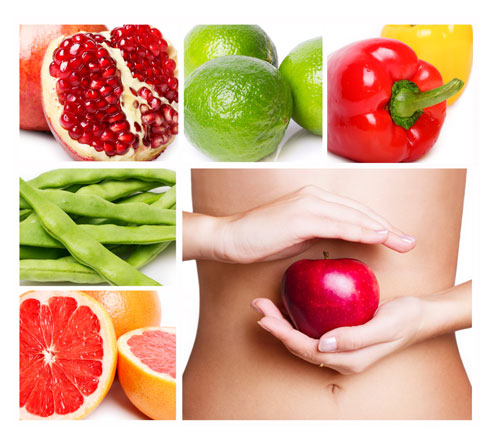 fruits-vegetable-stomach